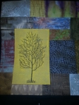 Lone tree quilt just started