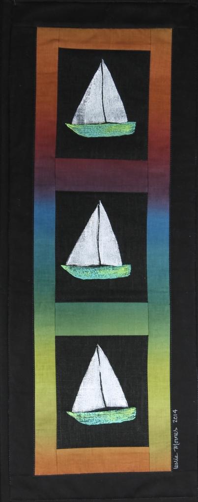 ombre sailboats