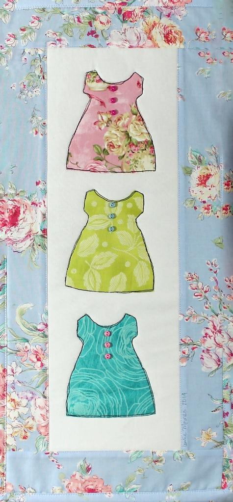 Vintage Blue Baby Dresses