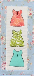 Baby Dresses blue border