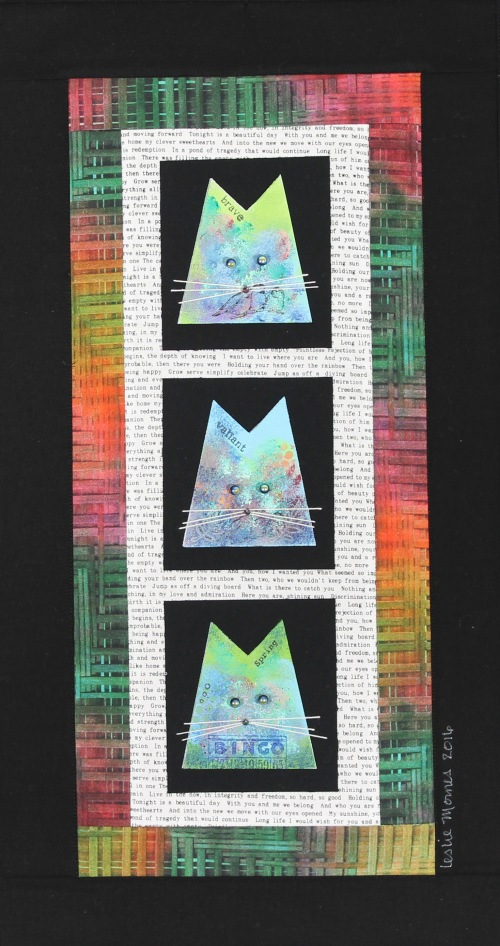 Cat of nine colors