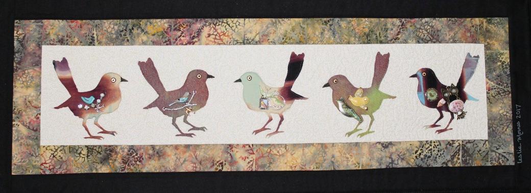 Birds with bird charms